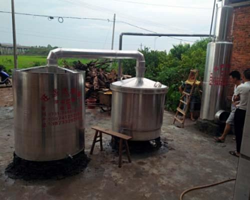 衡阳客户又增加一套白酒酿酒设备