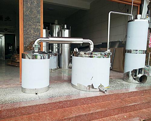 双冷却串香酿酒设备