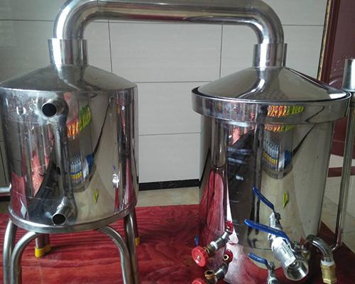 双烧蒸汽串香型酿酒设备